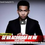 (AUDIO) Se va acordar de Mi – David Kada @@davidkadamusic (2017)