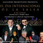 En junio Richie Ray & Bobby Cruz celebrarán sus 55 aniversario en el Día Internacional de Salsa en el Charles F. Dodge City Center